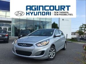 2014 Hyundai Accent GL/HEATED SEATS/BLUETOOTH/OFF LEASE!!