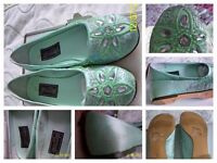 Mint Green Shoes, Size 6