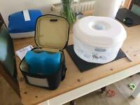 Tommee tippee steriliser and bottle cooler