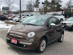2012 Fiat 500 Gucci Leather Roof