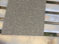 Carpet Tiles brown grey double insulated heavy duty