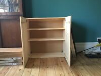 Ikea wood cabinet