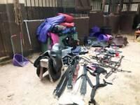 Lots of horse gear