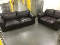Leather 3+2 seater sofa set •free delivery