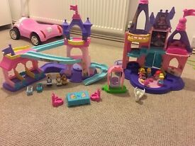 Disney princess little people toys