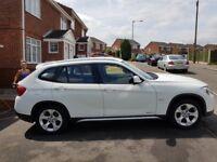 2012 12 BMW X1 2.0 XDRIVE18D SE 5D 141 BHP DIESEL White.