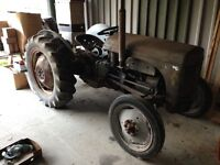 Grey Ferguson Tractor Early Model Complete Tractor Always Dry Stored Very Easy Restoration Project!!