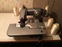 singer industrial blind hemmer sewing machine