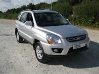 Kia Sportage 2.0L Diesel 4x4 SUV , FSH , New MOT No Advisories , Very Low Mileage