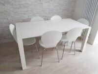 50% OFF MADE Bramante extending dining table + 6 Kitsch chairs