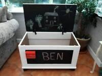 Child's bespoke toy box