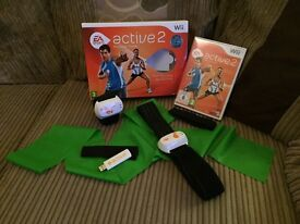 Wii EA Sports active 2 Personal Trainer for use on Nintendo Wii.