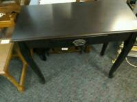 Corner table with drawer