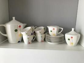 Dinner and coffee set - porcelain good condition