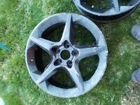 Vauxhall Astra mk5 penta slot wheels