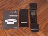 Swissvoice ePure TAM Cordless Telephone with Digital Answering Machine Base Station