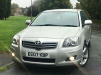 TOYOTA AVENSIS 2.2 D4D LOW LOW MILES 58K WARRANTED WITH FULL TOYOTA SERVICE HISTORY FULLY LOADED