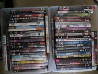 50 x Various DVDs