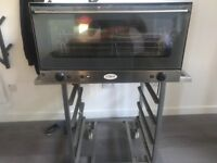 Great comercial oven with stand