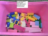 Lego Pink Building Bricks Box
