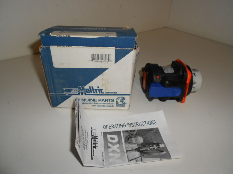 NOS! MELTRIC RECEPTACLE / CONNECTOR 25-14072 2514072