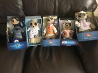 5 meerkats
