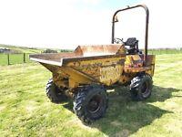 Benford 2.5 ton dumper electric start no vat