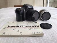 Nikon Pronea 600i plus 2 Nikon lenses & Tenba camera case