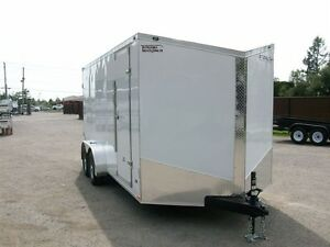 2017 Stealth Trailers HD CARGO 7' X 16' V-NOSE 2 ESSIEUX