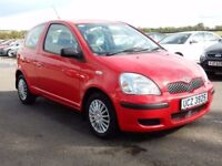2003 Toyota yaris 1.3 petrol with only 25000 miles, mots sept 2018
