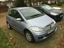 Mercedes benz A150 petrol blue 3door auto low mileage
