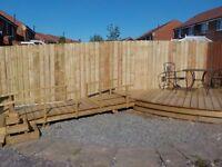 landscape gardener north shields decking fence gate carpenter garden maintenance tidy gardens
