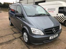 Mercedes vito 113 cdi auto DUALINER, 1 owner from new, Stunning vehicle!!