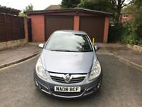 2008 VAUXHALL CORSA 1.4 DESIGN WITH 12 MONTHS MOT AND NO ADVISORY