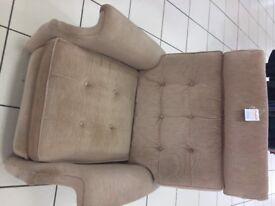fawn recliner chair