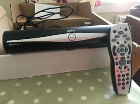 Sky + HD box with remote and cables