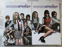 Morning Glories Vol 1-4 Graphic Novels