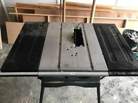 Table saw Spares or repairs