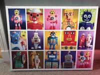 Robot box print