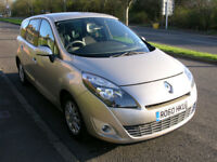 2010 60 Renault Grand Scenic 1.5 dCi Privilege TomTom 5dr Great Condition