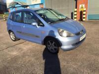 honda jazz 2003 03 plate 1.4 i dsi se sport 5 door hatchback mot alloy wheels