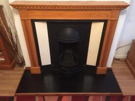 Fireplace, Surround & Floor Tiles For Sale