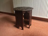 Small wooden Octagonal Table