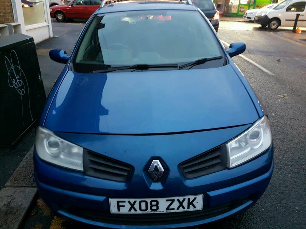 Renault MEGANE ESTATE 2008 1.6 PETROL MANUAL QUICK SALE