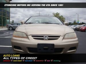 2001 Honda Accord EXL / LEATHER../ SUNROOF.