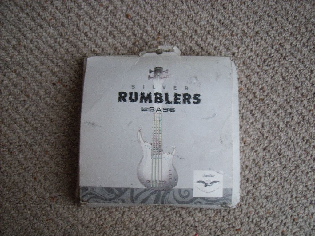 Complete set of Aquila Silver Rumbler strings for Kala U-Bass | in ...