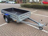 Brand new Faro Tractus 2,36cm wood side 35 cm car box trailer 750kg