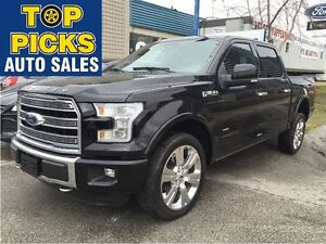 2016 Ford F-150 LIMITED LOADED!..22'S, TWO TONE LEATHER, EVERY O