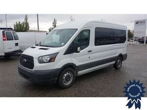 2015 Ford Transit Wagon XL 12 Passenger, 45,566 KMs, 3.5L V6 Gas