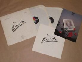Rare Evita LP and London Show Guide Exc. Cond & Tell Me On A Sunday